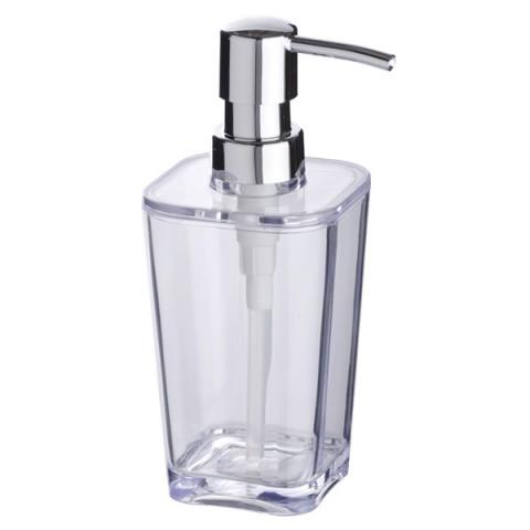 Dispenser sapone candy trasparente in plastica marca wenko - Wenko accessori bagno ...